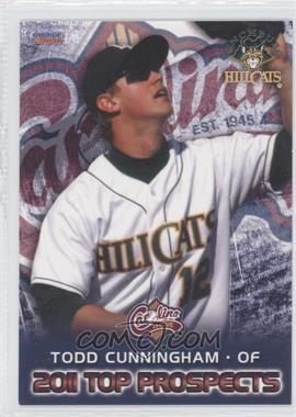 2011 Choice Carolina League Top Prospects - [Base] #18 - Todd Cunningham