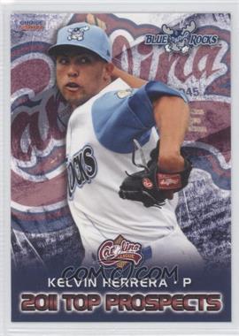 2011 Choice Carolina League Top Prospects - [Base] #24 - Kelvin Herrera