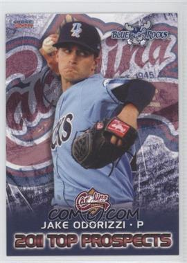 2011 Choice Carolina League Top Prospects #03 - Jake Odorizzi
