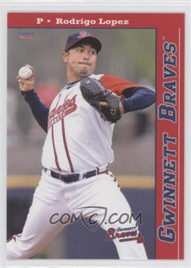 2011 Choice Gwinnett Braves - [Base] #07 - Rodrigo Lopez