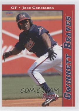 2011 Choice Gwinnett Braves - [Base] #20 - Jose Constanza