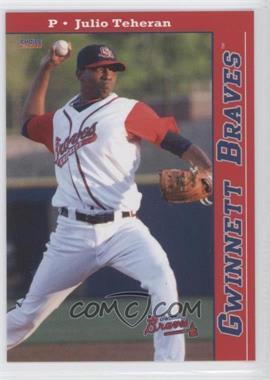 2011 Choice Gwinnett Braves #01 - Julio Teheran