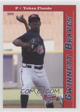 2011 Choice Gwinnett Braves #05 - Yohan Flande
