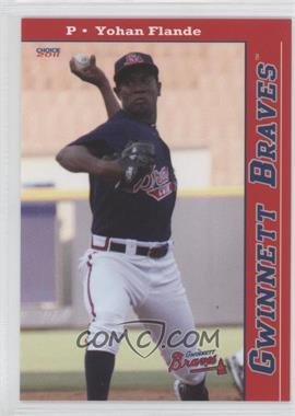 2011 Choice Gwinnett Braves #05 - Yohan Flande