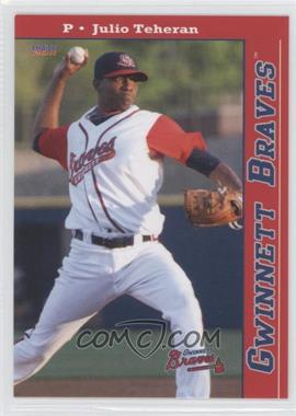 2011 Choice Gwinnett Braves #1 - Julio Teheran