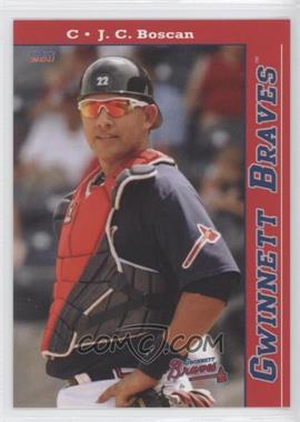 2011 Choice Gwinnett Braves #12 - J.C. Boscan