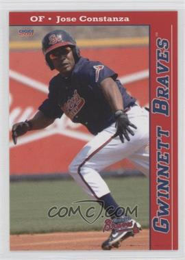 2011 Choice Gwinnett Braves #20 - Jose Constanza
