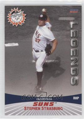 2011 Choice Hagerstown Suns Legends #25 - Stephen Strasburg