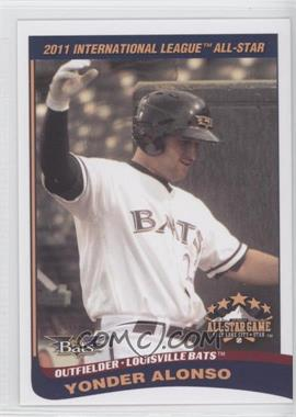 2011 Choice International League All-Stars #29 - Yonder Alonso