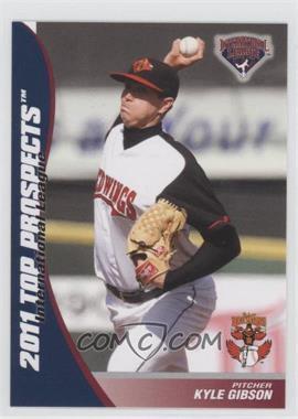 2011 Choice International League Top Prospects - [Base] #07 - Kyle Gibson