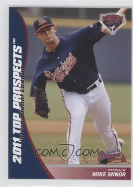 2011 Choice International League Top Prospects - [Base] #17 - Mike Minor