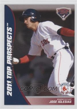 2011 Choice International League Top Prospects #10 - Jose Iglesias