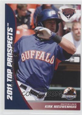 2011 Choice International League Top Prospects #19 - Kirk Nieuwenhuis