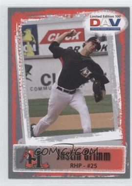 2011 Disabled American Veterans Minor League - [Base] #100 - Justin Grimm