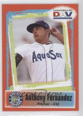 2011 Disabled American Veterans Minor League #961 - Anthony Fernandez