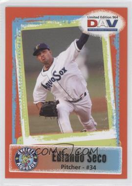 2011 Disabled American Veterans Minor League #964 - Edlando Seco