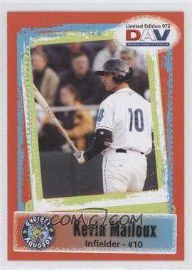 2011 Disabled American Veterans Minor League #972 - Kevin Mailloux