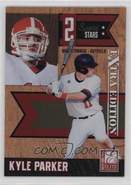 2011 Donruss Elite Extra Edition - 2 Sport Stars #1 - Kyle Parker /499