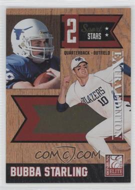 2011 Donruss Elite Extra Edition - 2 Sport Stars #6 - Bubba Starling /499