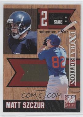 2011 Donruss Elite Extra Edition - 2 Sport Stars #7 - Matt Szczur /499