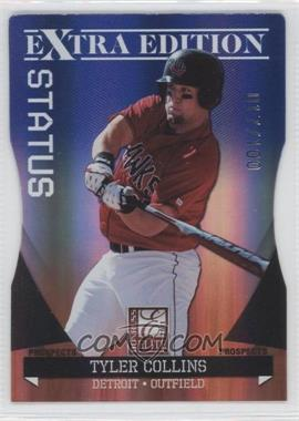 2011 Donruss Elite Extra Edition - Autographed Prospects - Blue Die-Cut Status Non-Autographed #P-6 - Tyler Collins /100