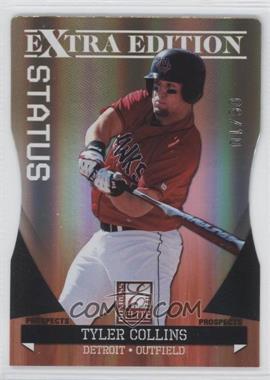 2011 Donruss Elite Extra Edition - Autographed Prospects - Gold Die-Cut Status Non-Autographed #P-6 - Tyler Collins /10