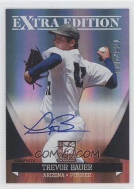 2011 Donruss Elite Extra Edition - Autographed Prospects #P-1 - Trevor Bauer /430