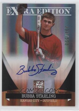 2011 Donruss Elite Extra Edition - Autographed Prospects #P-10 - Bubba Starling /598