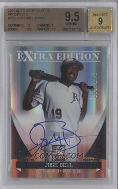 2011 Donruss Elite Extra Edition - Autographed Prospects #P-35 - Josh Bell /692 [BGS 9.5]