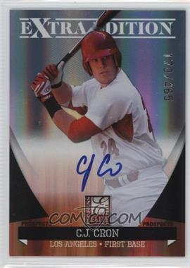 2011 Donruss Elite Extra Edition - Autographed Prospects #P-5 - C.J. Cron /465