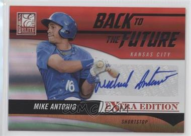 2011 Donruss Elite Extra Edition - Back to the Future Signatures #1 - Mike Antonio /720