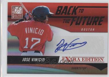 2011 Donruss Elite Extra Edition - Back to the Future Signatures #16 - Jose Vinicio /720