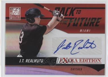 2011 Donruss Elite Extra Edition - Back to the Future Signatures #2 - J.T. Realmuto /720