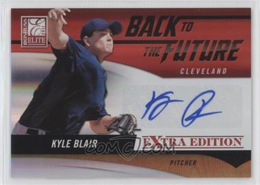 2011 Donruss Elite Extra Edition - Back to the Future Signatures #6 - Kyle Blair /99
