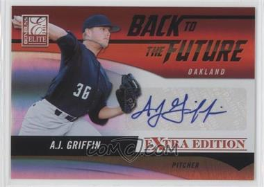 2011 Donruss Elite Extra Edition - Back to the Future Signatures #7 - A.J. Griffin /720