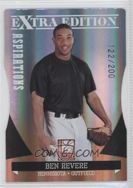 2011 Donruss Elite Extra Edition - [Base] - Aspirations Die-Cut #19 - Ben Revere /200