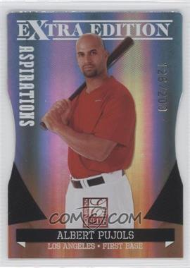 2011 Donruss Elite Extra Edition - [Base] - Aspirations Die-Cut #4 - Albert Pujols /200