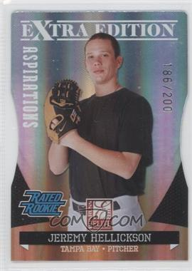 2011 Donruss Elite Extra Edition - [Base] - Aspirations Die-Cut #6 - Jeremy Hellickson /200