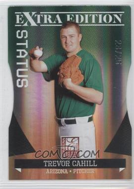 2011 Donruss Elite Extra Edition - [Base] - Emerald Status Die-Cut #13 - Trevor Cahill /25