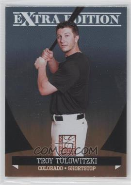 2011 Donruss Elite Extra Edition - [Base] #24 - Troy Tulowitzki