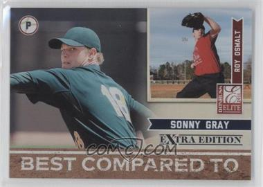 2011 Donruss Elite Extra Edition - Best Compared To #8 - Roy Oswalt, Sonny Gray /499