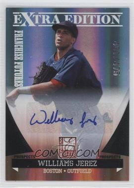 2011 Donruss Elite Extra Edition - Franchise Futures Signatures #18 - Williams Jerez /475