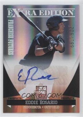 2011 Donruss Elite Extra Edition - Franchise Futures Signatures #186 - Eddie Rosario /799