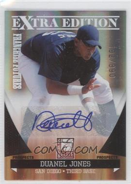 2011 Donruss Elite Extra Edition - Franchise Futures Signatures #189 - Duanel Jones /890