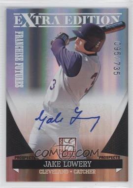 2011 Donruss Elite Extra Edition - Franchise Futures Signatures #63 - Jake Lowery /735