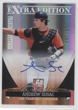 2011 Donruss Elite Extra Edition - Franchise Futures Signatures #89 - Andrew Susac /364