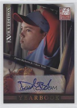 2011 Donruss Elite Extra Edition - Yearbook - Signatures [Autographed] #4 - Dante Bichette Jr. /99