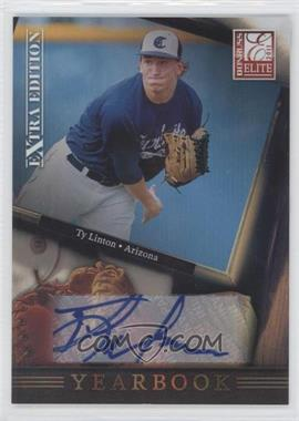 2011 Donruss Elite Extra Edition - Yearbook - Signatures [Autographed] #7 - Ty Linton /199