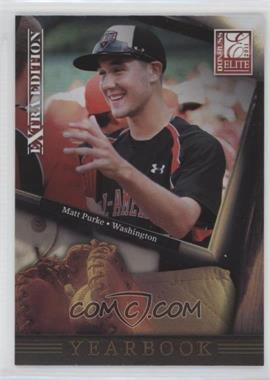 2011 Donruss Elite Extra Edition - Yearbook #1 - Matt Purke