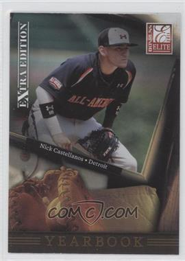 2011 Donruss Elite Extra Edition - Yearbook #14 - Nick Castellanos